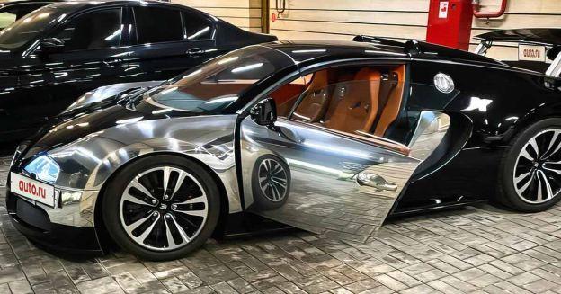 11-летний Bugatti Veyron с минимальным пробегом продан в Москве за 110 миллионов рублей