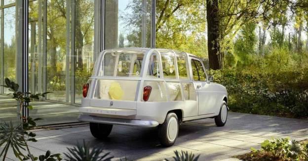 Винтажный Renault 4 превратился в мини-отель на колесах - Motor