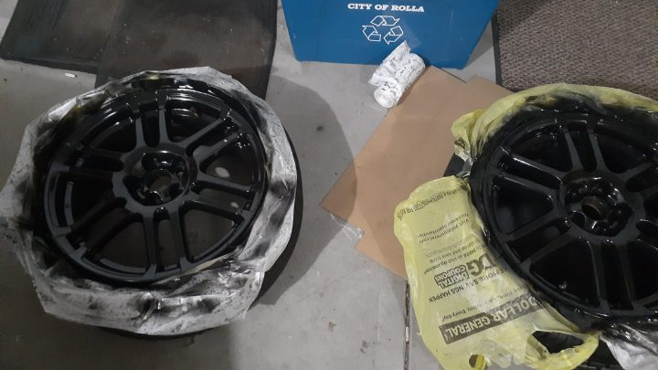 The Most Simple Method for Spray Painting Wheels