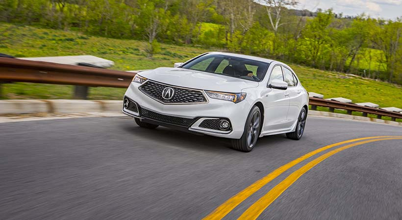 Test Drive Acura TLX 2018