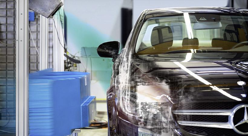 Mercedes benz usa rayos x en pruebas de choque la prensa for Mercedes benz usa com