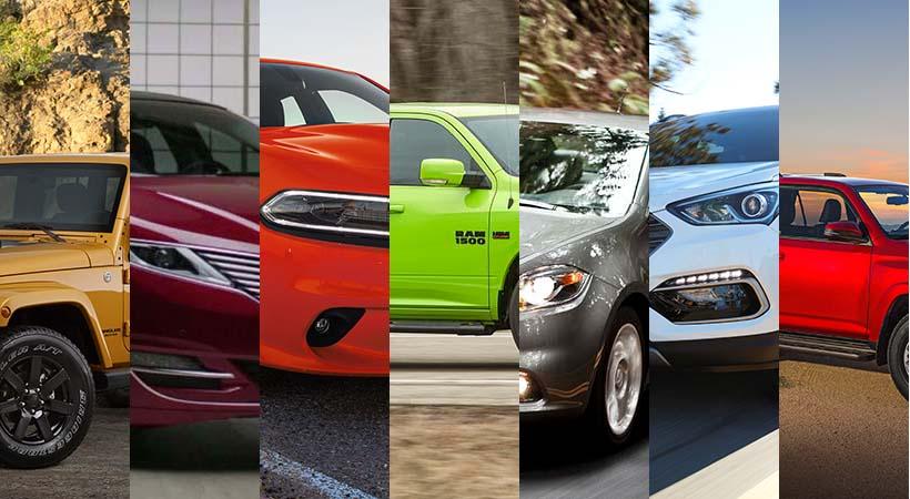 Top Autos Usados desde sedanes hasta camionetas Pick-up