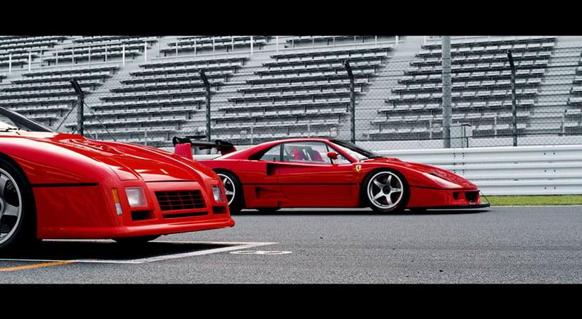 Ferrari F40 LM y GTO Evo