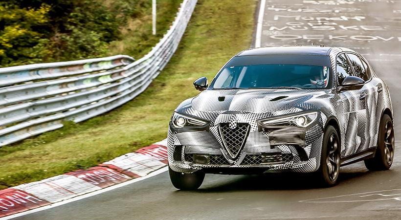 Record Alfa Romeo Stelvio Quadrifoglio 2018 en el Nürburgring