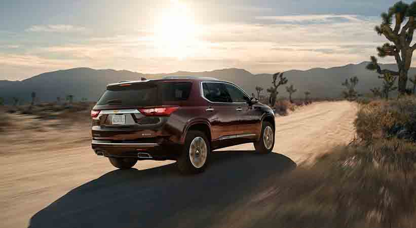 Chevrolet Traverse AWD High Country 2018 precio, Chevrolet Traverse AWD High Country 2018 características, Chevrolet Traverse AWD High Country 2018 video, Chevrolet Traverse AWD High Country 2018 prueba de manejo, precio SUV Chevrolet