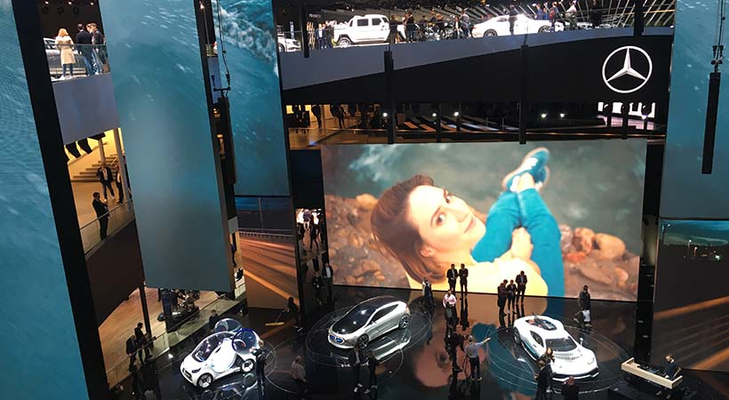 Video Mercedes-Benz Auto Show Frankfurt 2017