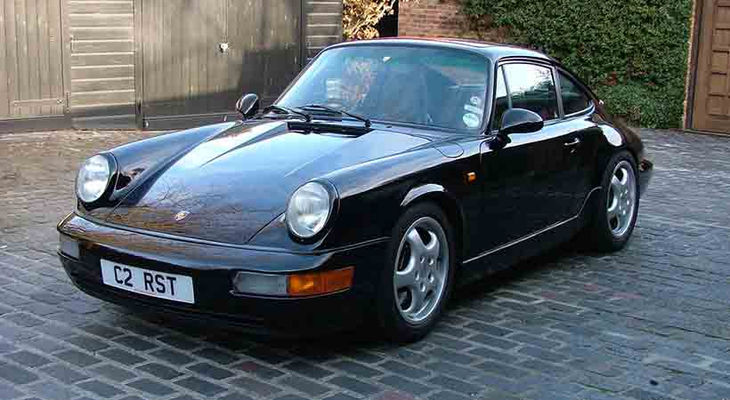Silverstone Auctions, Porsche Club Gran Bretaña, Porsche 911 Carrera Supersport Targa 1987