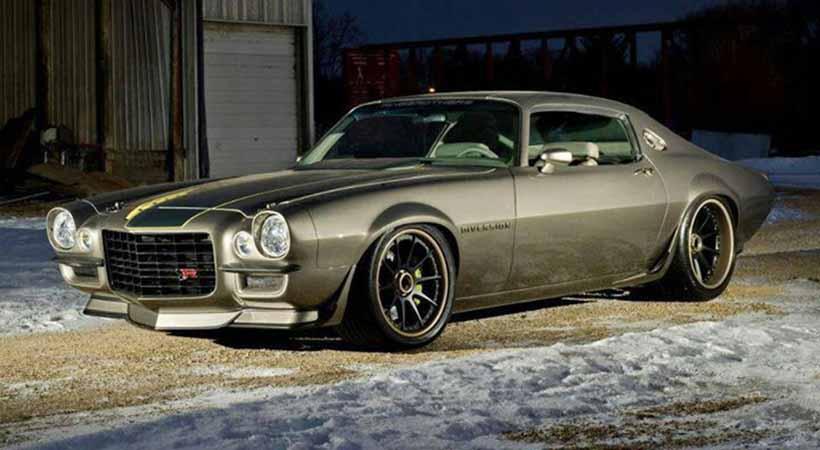 Top 10 mejores autos de Ringbrothers, Ringbrothers, SEMA Show, autos clásicos modificados, mejores autos Ringbrothers