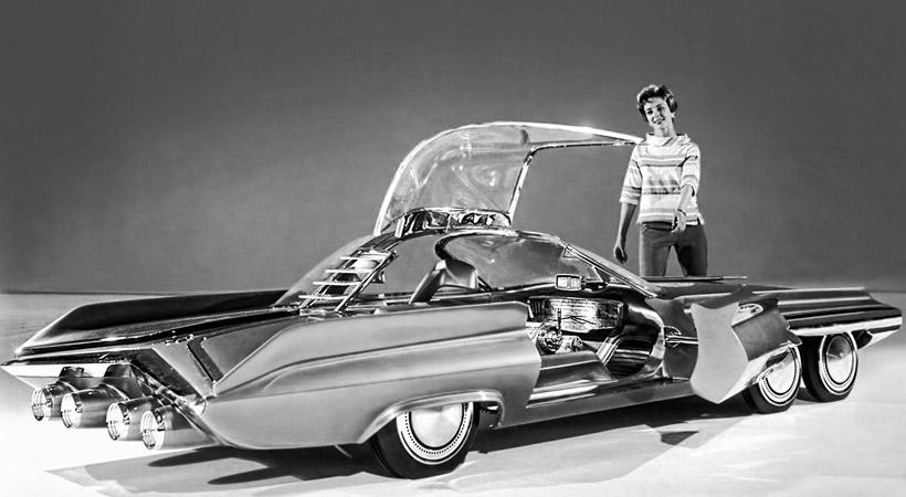 Top 5 autos concepto americanos del pasado