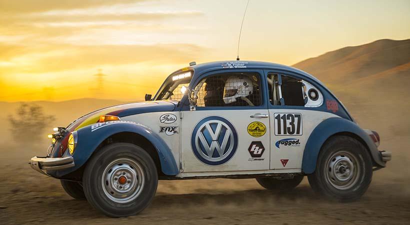 Volkswagen en la Baja 1000