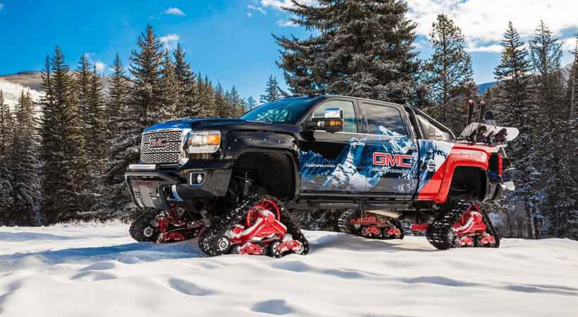 GMC Sierra 2500 All Mountain concept, invierno 2017