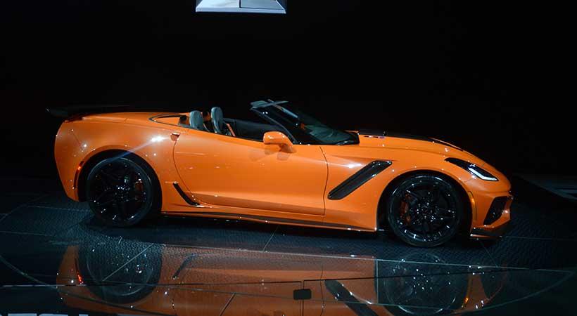 Top 5 mejores coches del Auto Show Los Angeles, Volvo XC40, Jeep Wrangler 2018, Chevrolet Corvette ZR1 convertible, KIA Sorento, Mercedes-Benz CLS Coupé 2018
