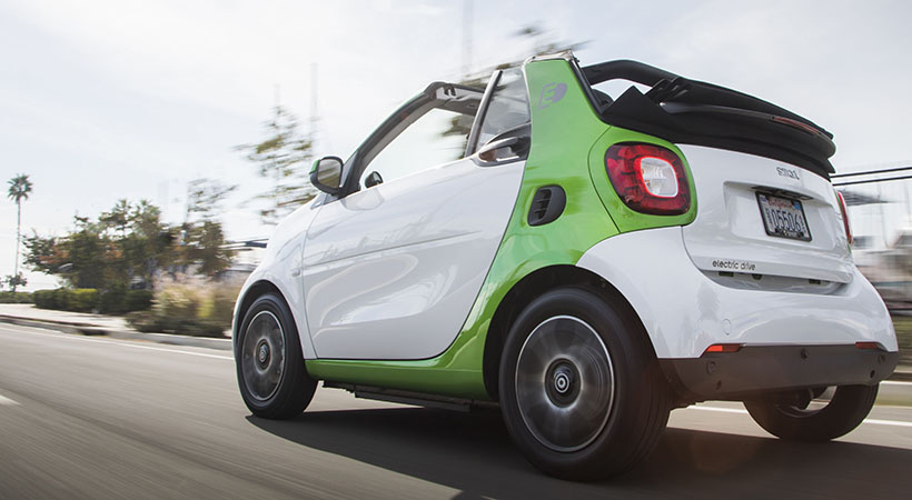 Test Drive smart fortwo electric drive cabrio 2018