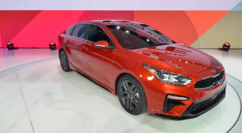 KIA Forte 2019, video KIA Forte 2019, Auto Show Detroit 2019