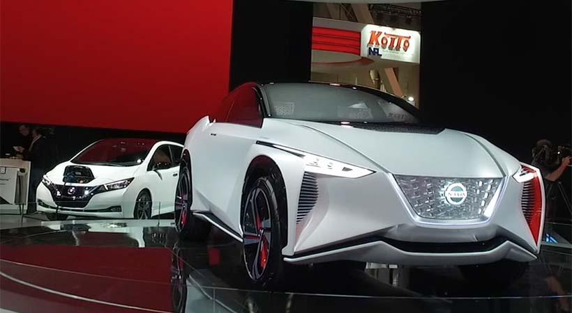 Nissan IMx CES Las Vegas 2018
