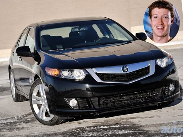 Mark Zuckerberg Car