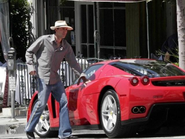 Nicolas Cage's Ferrari Enzo