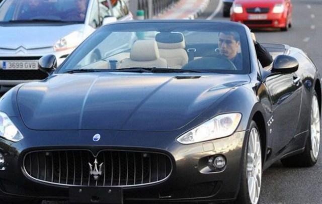 Cristiano Ronaldo Maserati GranCabrio