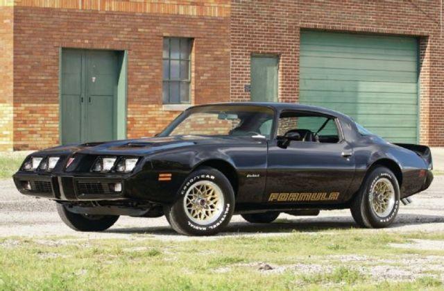 1979 Pontiac, Firebird Formula WS6 400