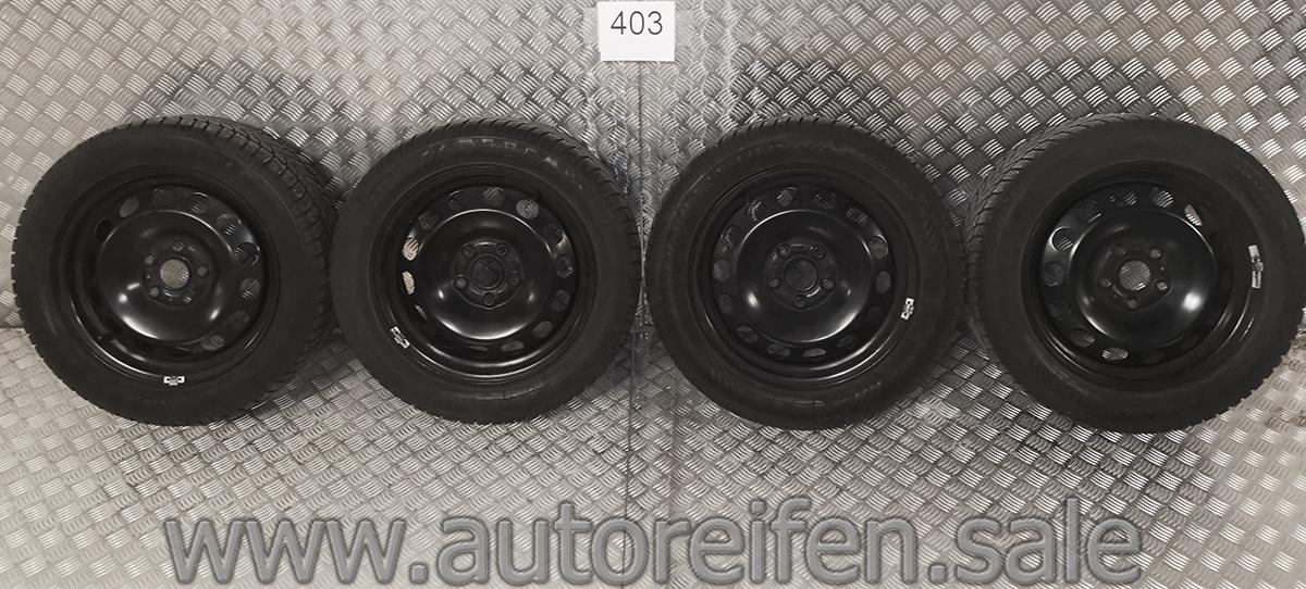 Golf Vii Leon 5f A3 8v Winterreifen 205 55 R16 91h M S Dunlop Mit Stahlfelgen Art Nr 0403 Autoreifen Sale