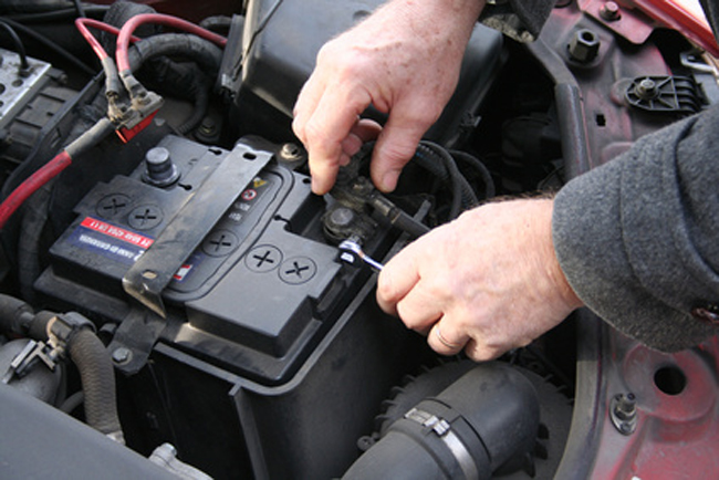 Image result for changing car battery