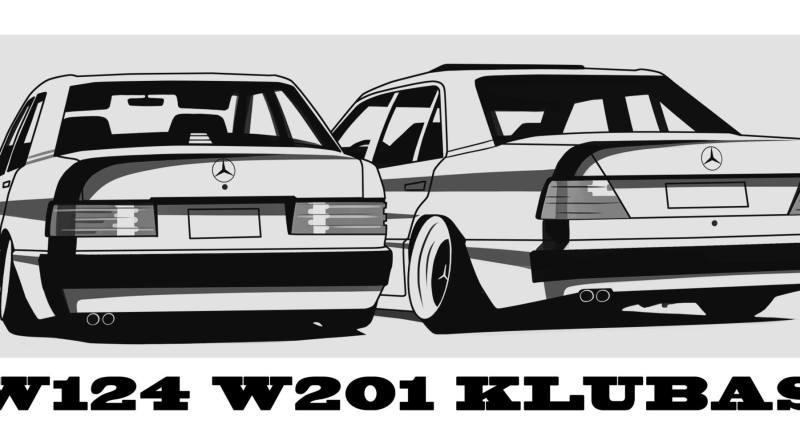 W124 W201 Klubo vasaros sezono atidarymas