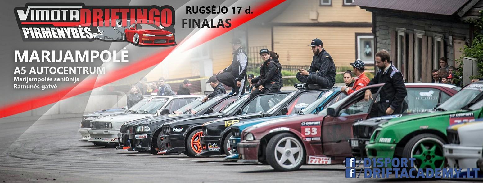 Vimota Driftingo Pirmenybės Finalas /Marijampolė /A5 Autocentrum