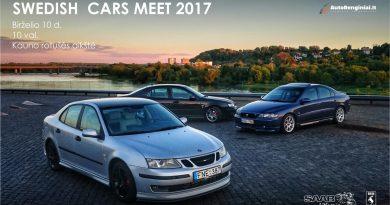 Swedish Cars Meet Kaunas
