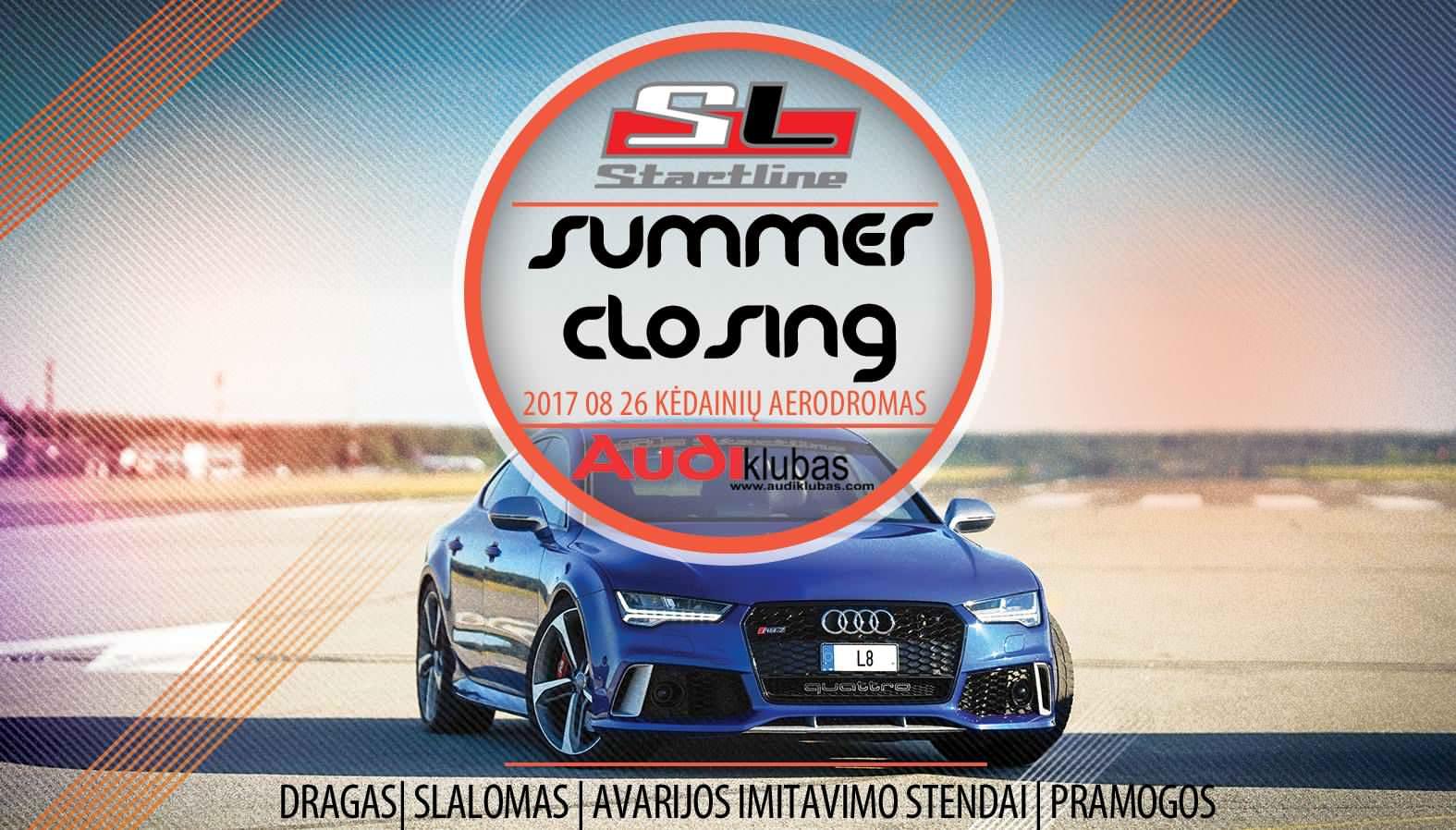 Startline & Audi klubas summer closing
