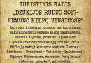 (Lietuvių) Turistinis Ralis: «Dzūkijos ruduo 2017 — Nemuno kilpų vingiuose»