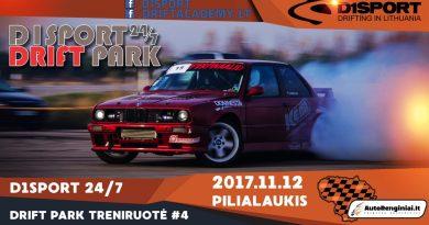 D1Sport 24/7 Drift Park Treniruotė #4