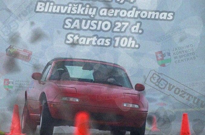 """Slalomo varžybos """"Bliuviškring 2k18"""" 1/4"""