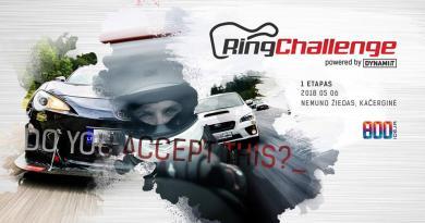 Ring Challenge – 1 Etapas