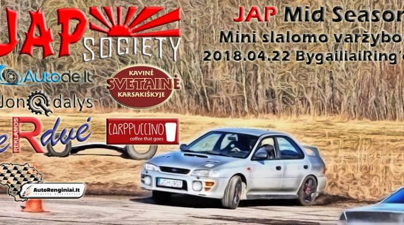 JAP Mid Season slalomo varžybos