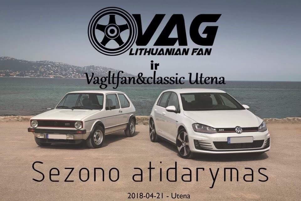 VAG Lithuanian Fan & Classic sezono atidarymas 2018
