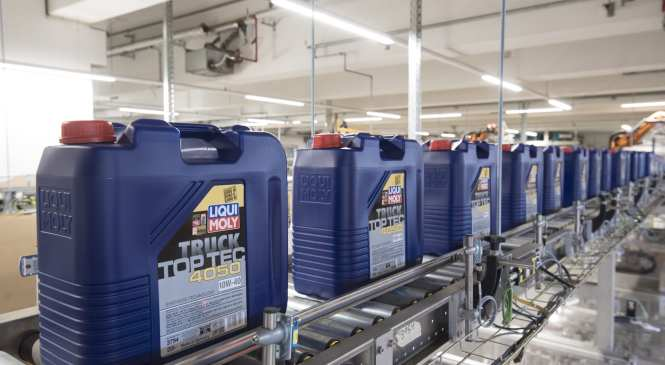 New warehouse aims to improve Liqui Moly deliveries