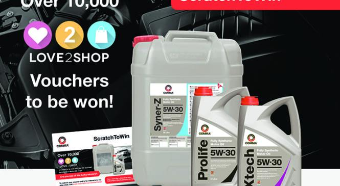 Win with Comma Performance Motor Oil