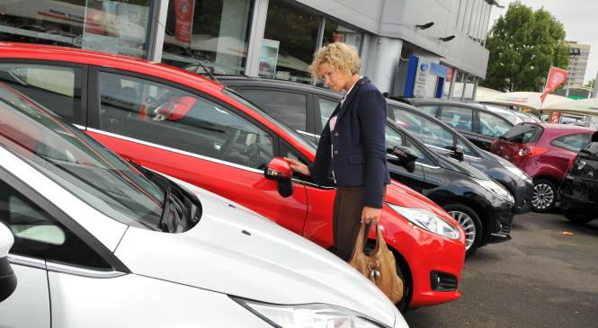 Used car sales drop but remain strong as diesel demand rises