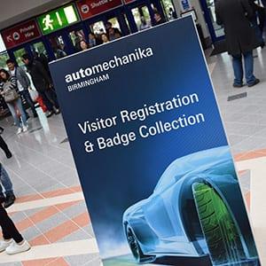 Automechanika Birmingham ticket registration