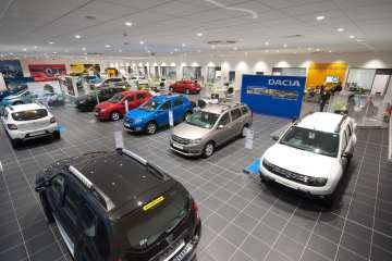 New-car sales in May show improvement, but steep decline