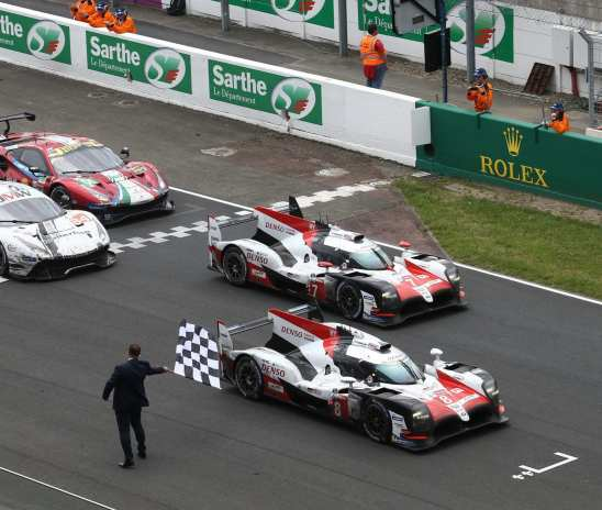 Denso congratulates Toyota Gazoo Racing on Le Mans victory