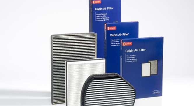 Quality cabin filters from Denso