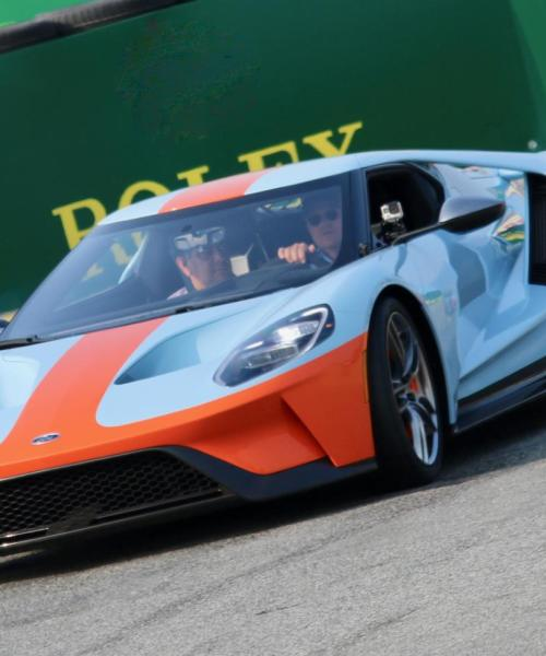 Gulf and Ford celebrate 50th anniversary of historic Le Mans win
