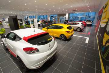 New car registrations up by over 3,000%