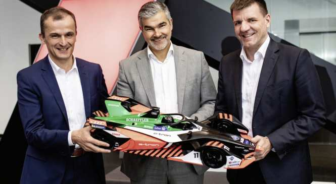 Schaeffler to continue Audi Formula E partnership