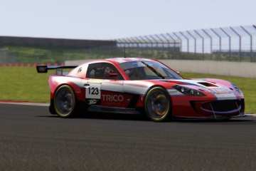 TRICO AND SARAH MOORE TAKE ON VIRTUAL BRITCAR AT SILVERSTONE THIS WEEK!
