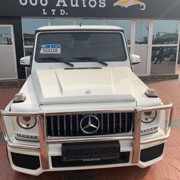 G wagon price in Nigeria