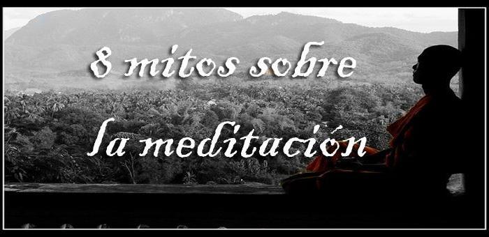8 mitos sobre la meditación