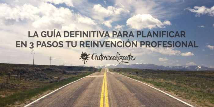 plan B para la reinvención profesional