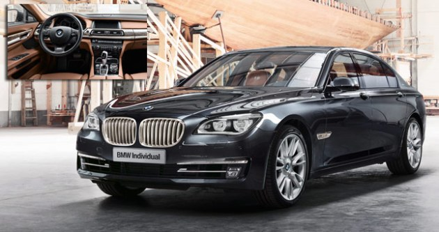 BMW 760Li Sterling Robbe & Berking Edition